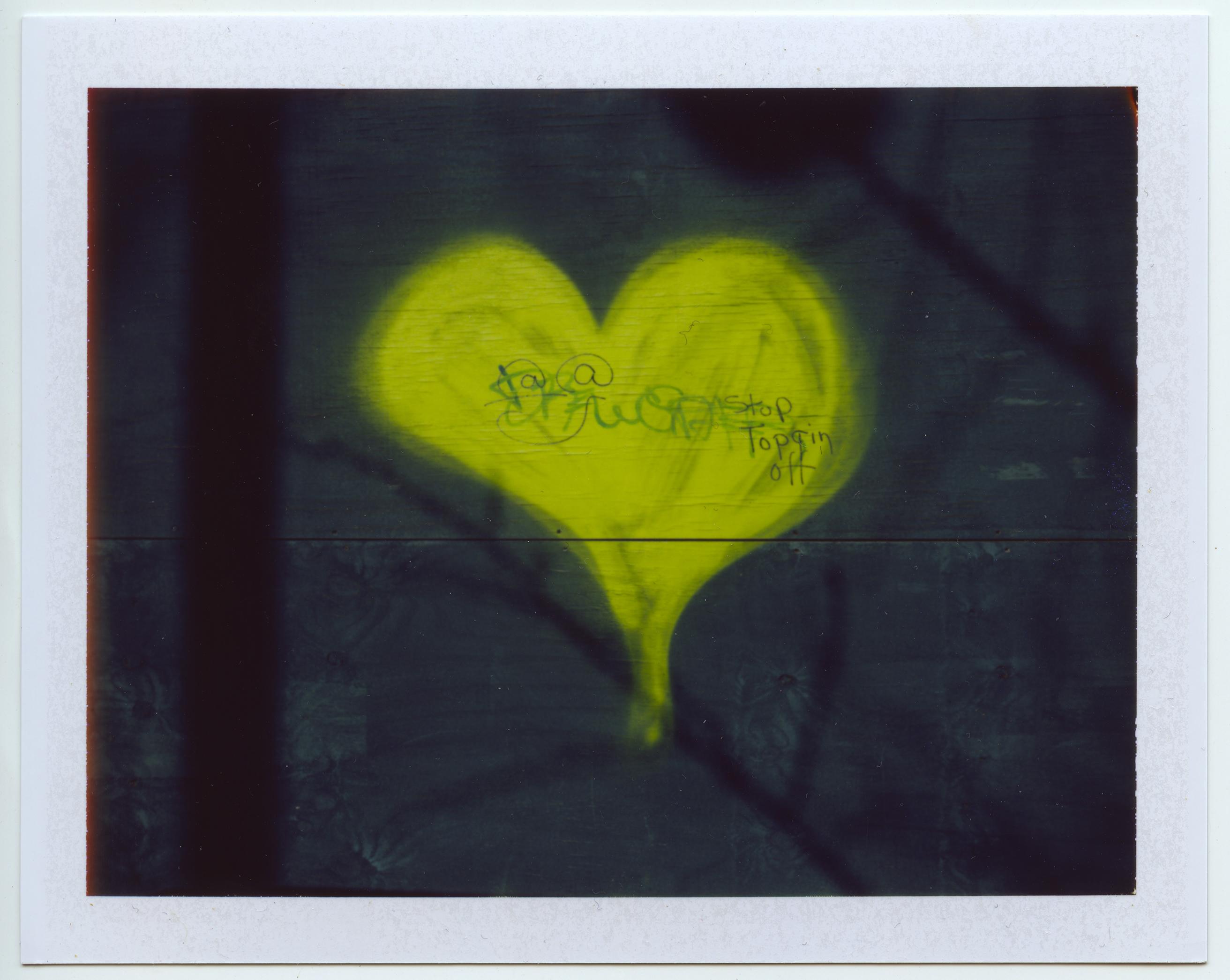 Graffiti Heart - Harlem, NYC