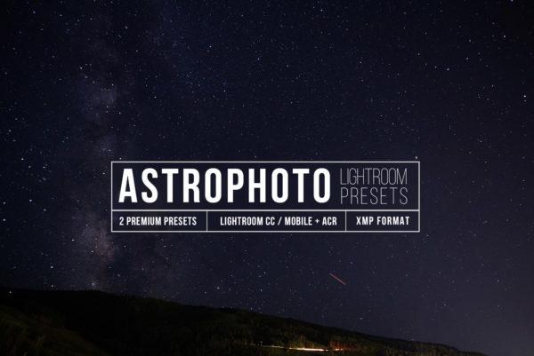 Astrophotography Lightroom CC Presets